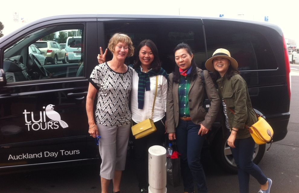 Guests From China Day Tour Auckland